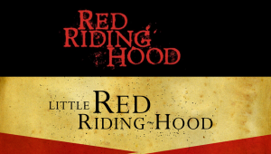 Red Riding Hood Typography